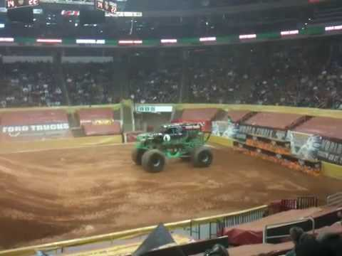 Grave Digger at RBC Center in Raleigh