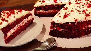 Red Velvet Cake Without Oven  By Neetu Suresh