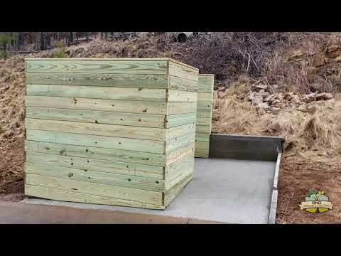 building a trash can storage
