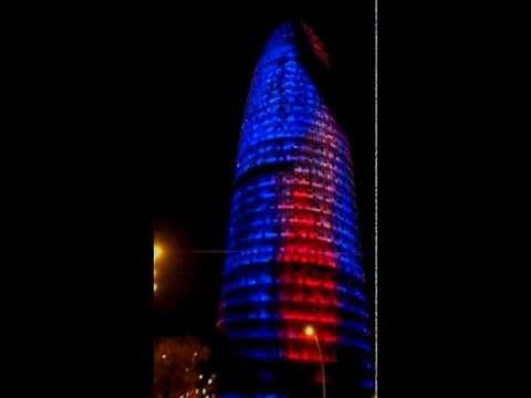Torre Agbar. Barcelona 22/03/2012