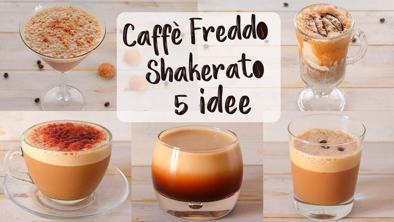 CAFFÈ FREDDO SHAKERATO IN BARATTOLO 5 IDEE - Ricetta Facile FATTO IN CASA DA BENEDETTA