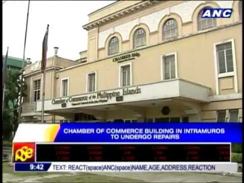 Old Chamber of Commerce building in Intramuros to be restored