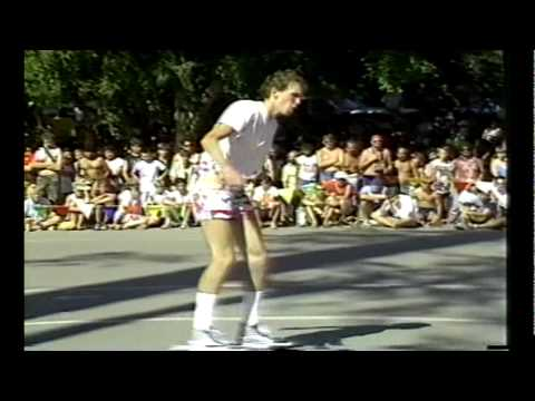 Kevin Harris Freestyle Contest Run - Vancouver 1985