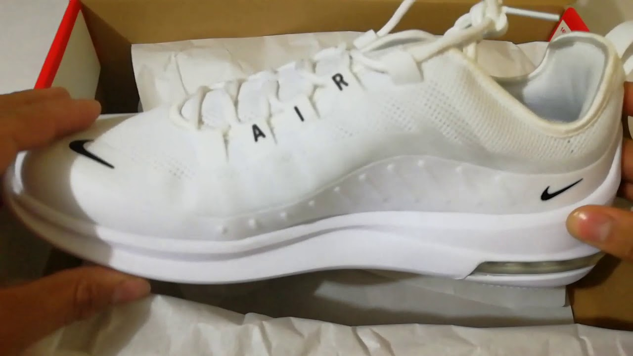 6989ddae6b4 Unboxing Nike Air Max Axis - YouTube