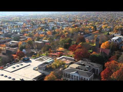 Tufts University Autumn Aerial Views - Medford/Somerville Campus