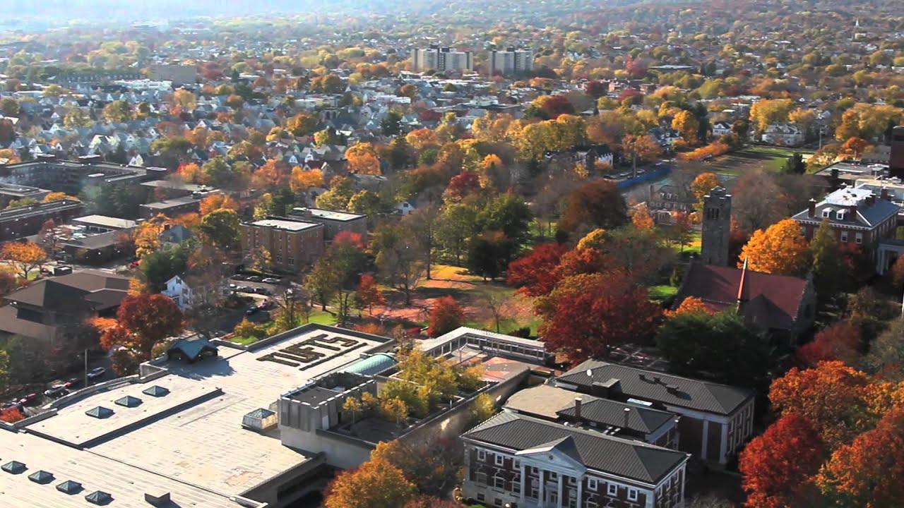 Tufts Medford Campus Map.Tufts University Autumn Aerial Views Medford Somerville Campus