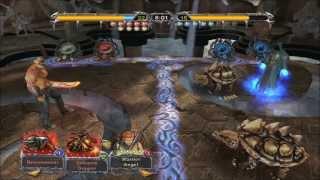 Magic The Gathering Battlegrounds - Gameplay (Red/White)