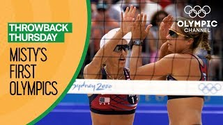 Misty May-Treanor's First Olympics Before Becoming a Beach Volleyball Star   Throwback Thursday