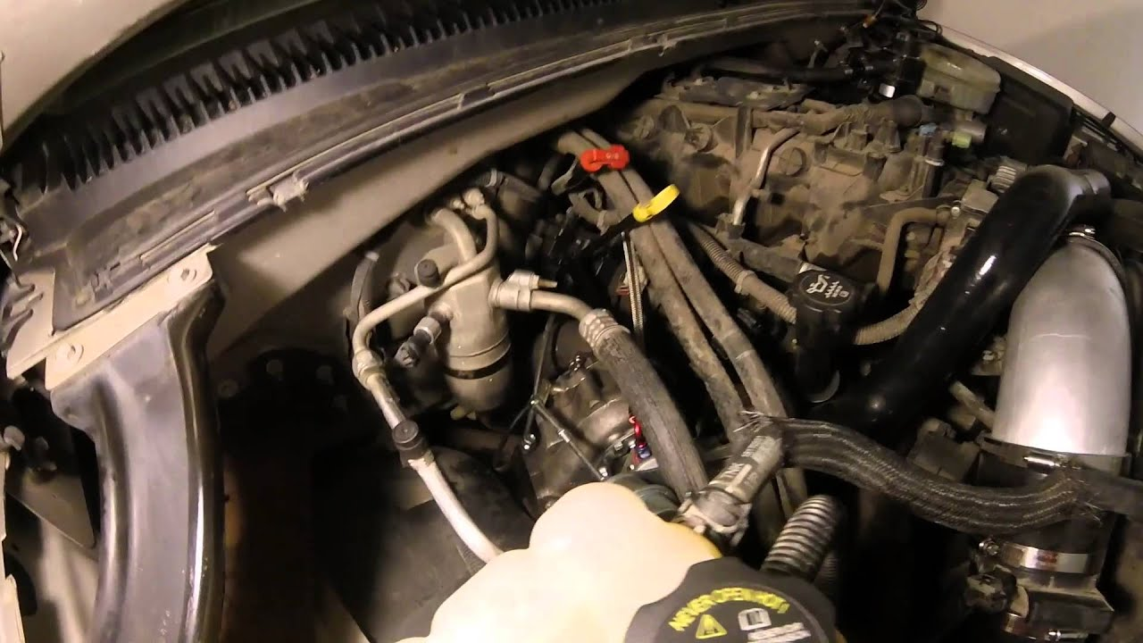 turbo install on 2004 gmc