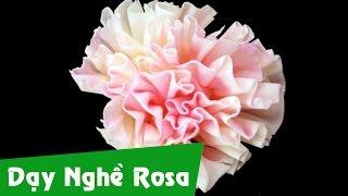 Học bánh kem: Sủi hoa cẩm chướng socola