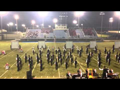 Tahlequah High School Orange Express finals performance @ Pryor band day 10-10-15