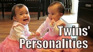 Twins' Different Personalities! - January 06, 2015 - itsJudysLife Vlog