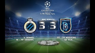 Club Brugge - Istanbul Basaksehir - 3:3 Highlights & All Goals (Champions League, 3rd) 26/07/2017