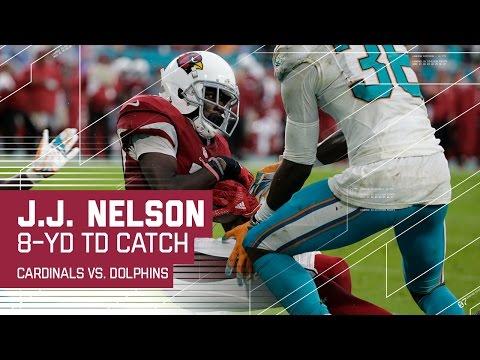 Carson Palmer Rifles a TD Pass to J.J. Nelson! | NFL Week 14 Highlights