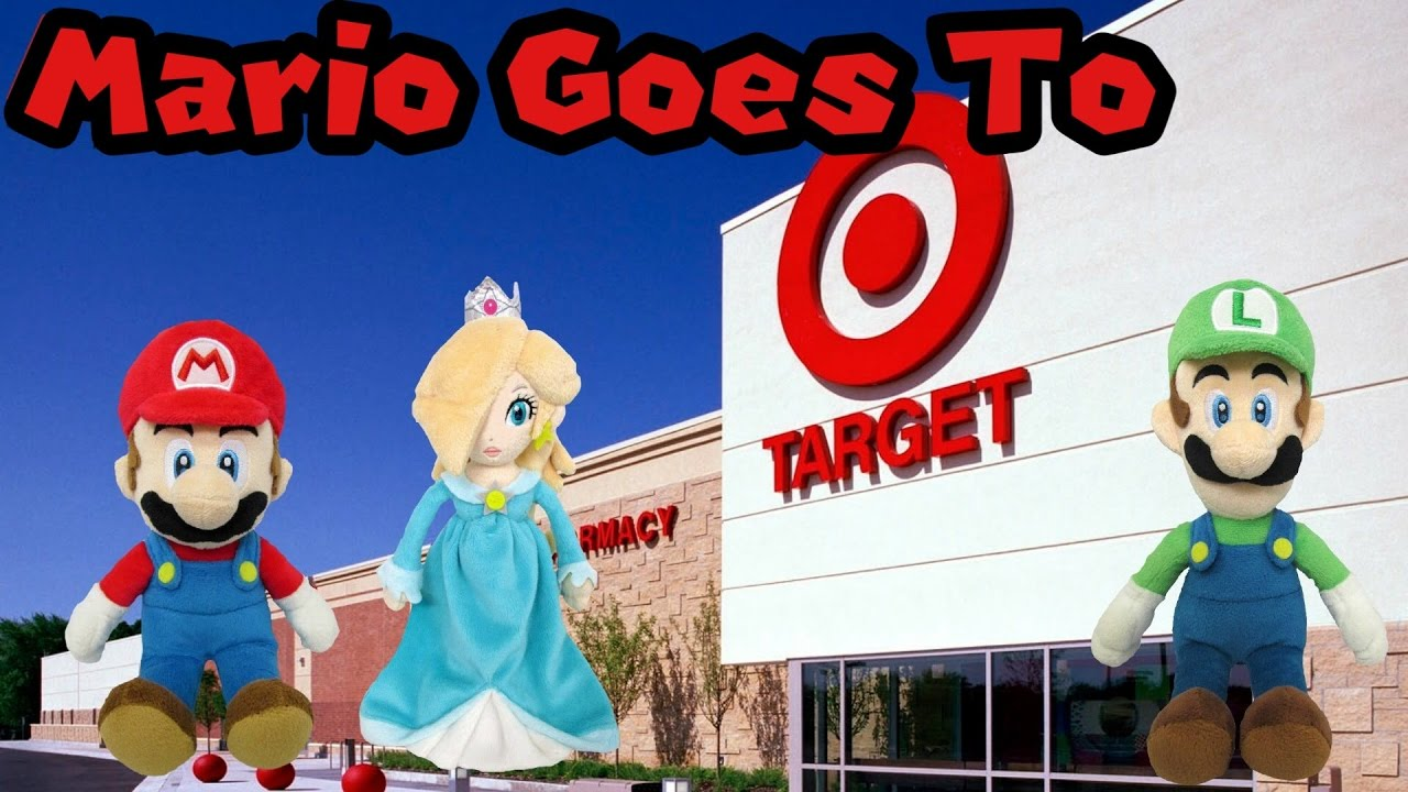 58a2400104 Mario Goes To Target! - YouTube
