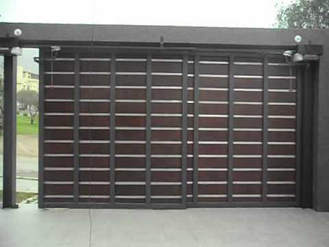 Puerta corrediza reja metalica doovi Puertas corredizas seguras