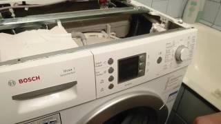 Сброс ошибок F 21, F 25 в стиральной машине Bosch maxx 5,6,7 с сенсорной панелью(, 2016-12-25T12:30:45.000Z)