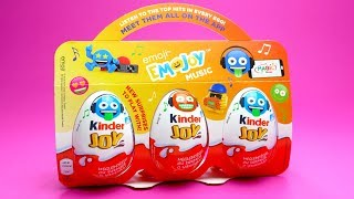 3 Kinder Joy unboxing - Kinder Surprise Eggs and Kinder Joy Surprise eggs