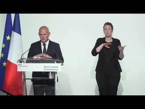 COVID-19   Conférence de presse, 8 avril 2020, par le Directeur général de la santé   Gouvernement