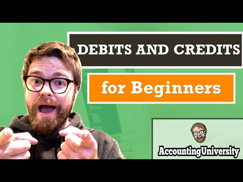 Debits and Credits for Beginners