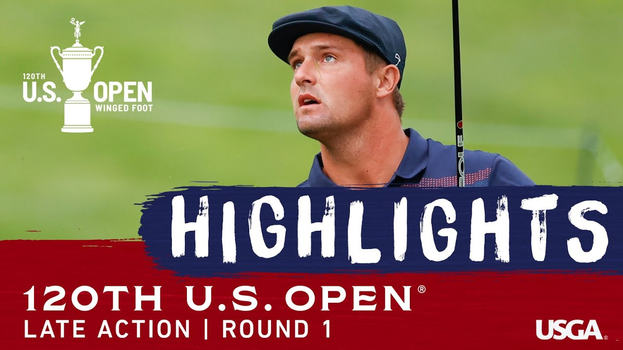 2020 U.S. Open, Round 1: Late Highlights