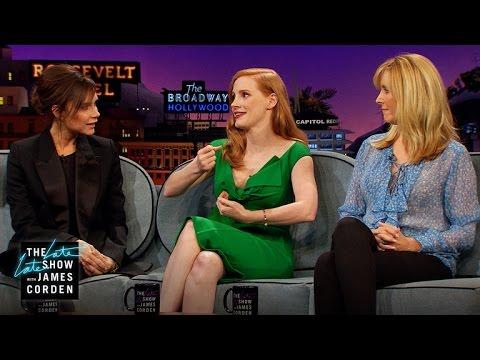 Childhood Crushes w/ Jessica Chastain, Lisa Kudrow & Victoria Beckham