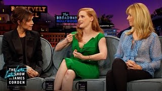 Childhood Crushes w/ Jessica Chastain, Lisa Kudrow & Victoria Beckham