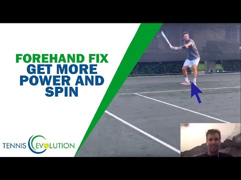 Tennis Forehand Analysis: Get More POWER And SPIN
