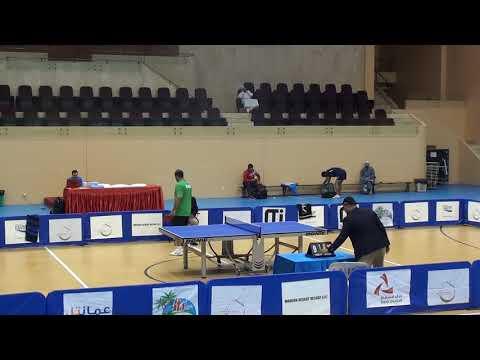 Oman Open TT Tournament 2015 Sultan Al Ryhami vs Hassan (Bahrain)
