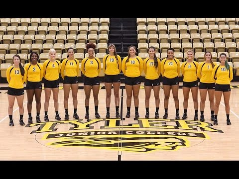 Volleyball:  Tyler Junior College vs San Jacinto College
