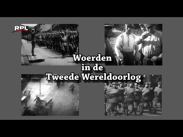 Woerden in de 2e wereldoorlog: (1) De Mobilisatie