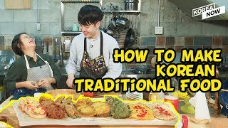 Learn how to make Korean Thanksgiving Food!
