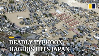 Rescue efforts underway in Japan after deadly Typhoon Hagibis kills at least 14 people