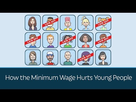 How the Minimum Wage Hurts Young People