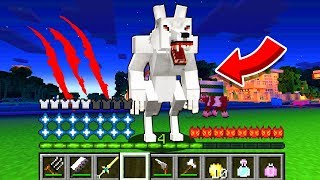 How to play WEREWOLF in Minecraft! Real life family WEREWOLF! Battle NOOB VS PRO Animation