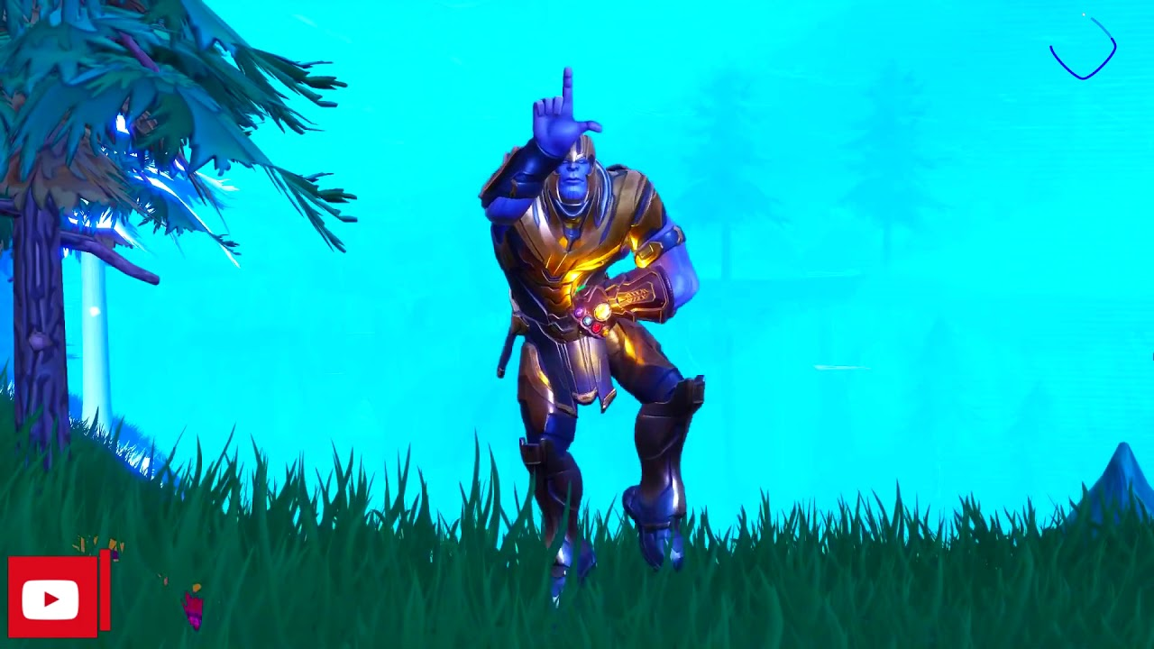 fortnite how to get thanos