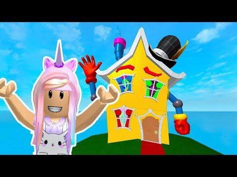 ROBLOX Escape The Crazy Fun House Ob  Kunicorn Plays Roblox