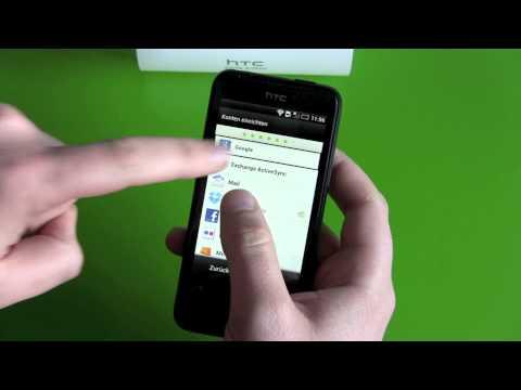 HTC ONE V einrichten und erster Eindruck