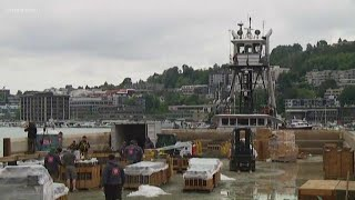Seafair gets ready for the 4th of July fireworks