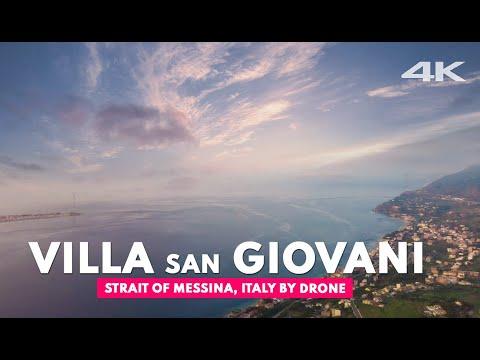 VILLA SAN GIOVANI, Strait of Messina  | 4k ultra hd drone
