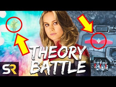 Captain Marvel Theory Battle: Quantum Realm VS Undercover On Earth