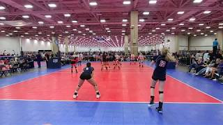 Autumn Dowell Volleyball Highlights May 2018