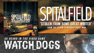 """Spitalfield """"Stolen From Some Great Writer"""" (Audio)"""