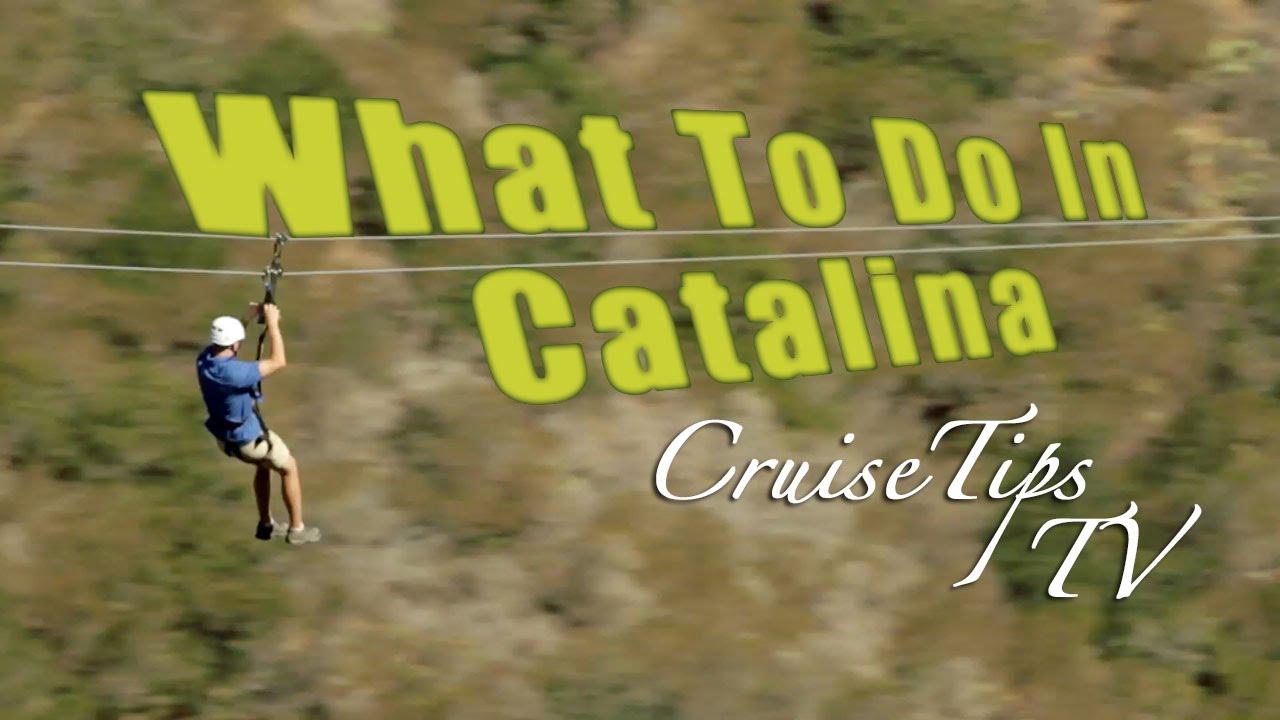 What To Do On Catalina Island Cruise Tips TV YouTube - Catalina cruises