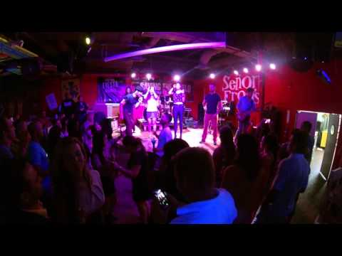 La Linea Band playing live at Senor Frogs GoPro