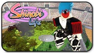 Roblox Shinobi Leben - Arena-Modus Gameplay - Ich bin Glühbirne der Zerstörung