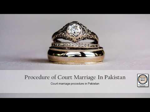 Court Marriage Procedure In Pakistan | Advocate Nazia