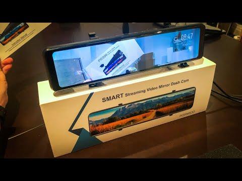 "12"" Fullscreen Rearview Mirror & Dashcam Reverse Camera"