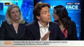 BFM Politique: Marine Le Pen face à Geoffroy Didier - 11/05 5/6