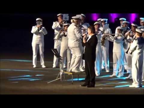 Ystad Tattoo   2015 Video 08 2  Anders Ekborg + Royal Swedish Navy Cadet Band